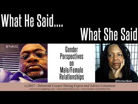 What He Says/What She Says: Black Singles and Romantic Market Value