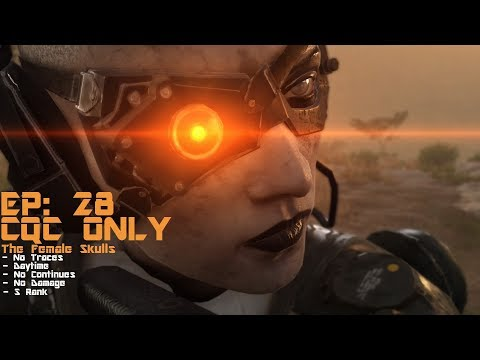 [MGS5: TPP] CQC Only The Female Skulls - Episode 28: Code Talker ' S Rank | No Traces
