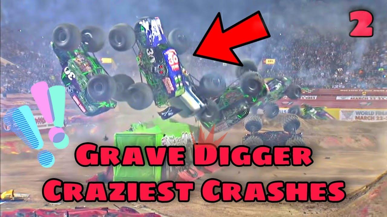 Monster Jam CRAZIEST CRASHES GRAVE DIGGER 2