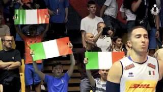 VNL Maschile 2018:  le immagini più belle di Italia-Russia al Pala Panini