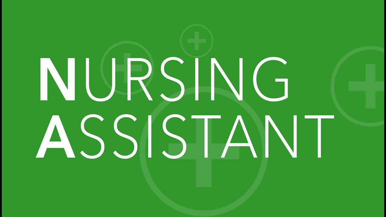 Nursing Assistant Certification At Green River College Youtube