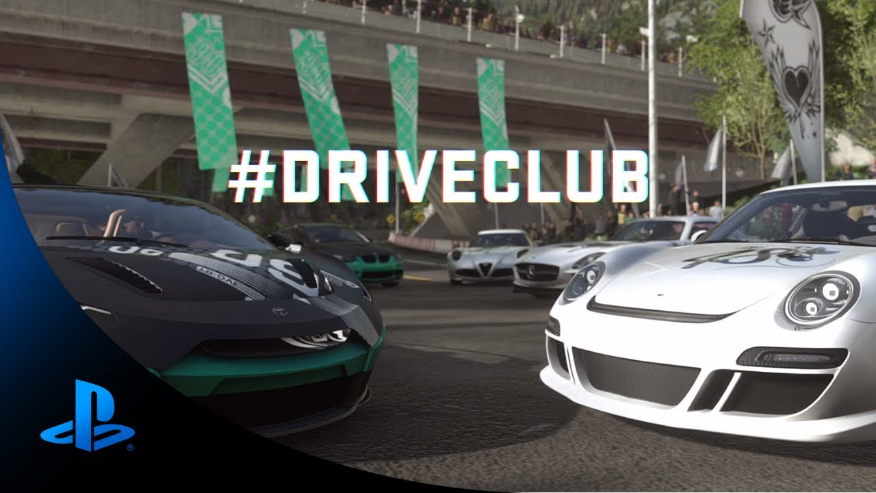 Driveclub gears up at Gamescom