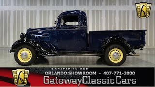 1936 Chevrolet Pickup Gateway Classic Cars Orlando