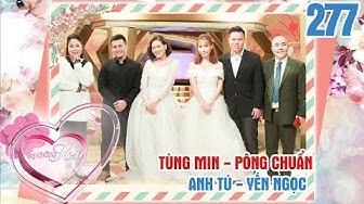 VỢ CHỒNG SON | VCS #277 UNCUT |Tùng Min tố Pông Chuẩn XIN GIỐNG - bắt vợ bầu NHỊN YÊU vì sợ con biết