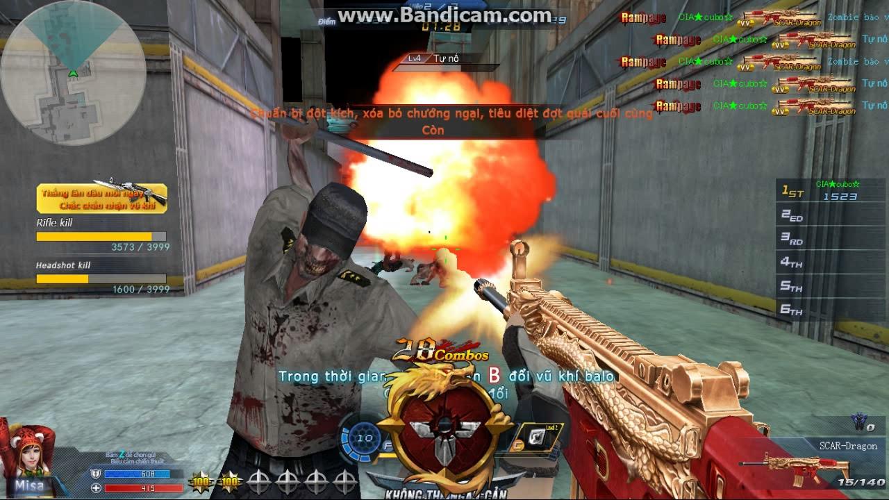 truy kích : súng độc lạ skill bá đạo
