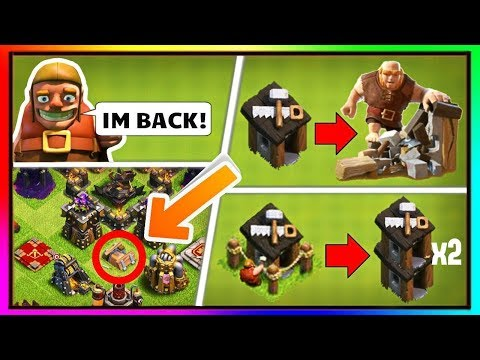 Clash Of Clans New Updates || The Giant Huts || Builder Huts And Many More............
