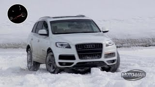 Audi Q7 Turbo Diesel: Death Valley to Utah on one tank of Diesel Fuel!