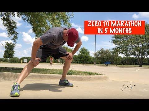 Zero To Marathon in 5 Months Marathon Training Day 1