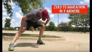Zero To Marathon in 5 Months - Marathon Training - Day 1
