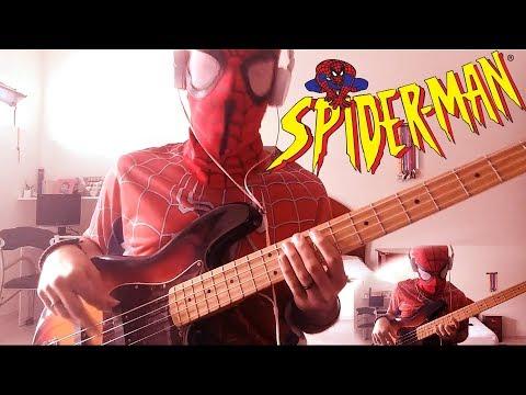 Spider-Man (Ramones) Bass Cover