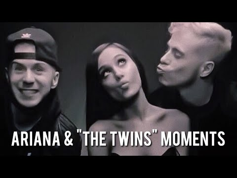 """Ariana Grande & """"The Twins"""" Moments"""