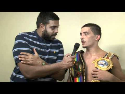 LEE SELBY POST FIGHT INTERVIEW FOR iFILM LONDON / SELBY v SIMPSON