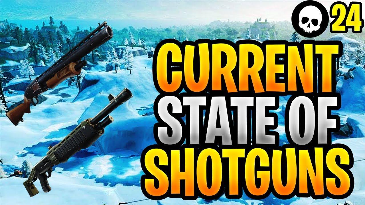 Der aktuelle Stand der Schrotflinte Meta in Fortnite ... (Fortnite Shotgun Buff Tips) + video