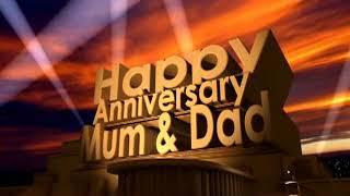 Happy Anniversary Mum & Dad