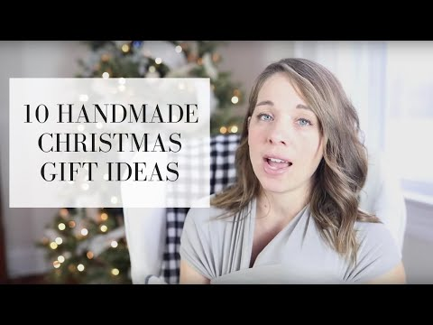 10 Homemade Gift Ideas For Christmas | Simple Homemade Gifts