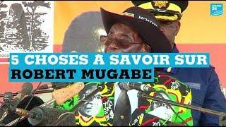5 choses à savoir sur Robert Mugabe