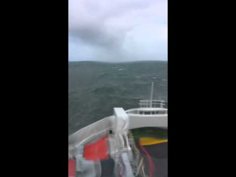 In A Storm On The European Highlander