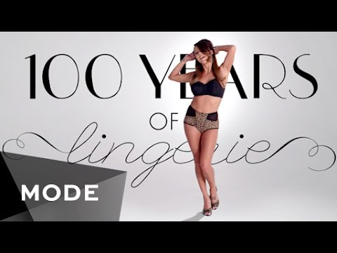 100 Years Of Fashion Lingerie Glam Youtube