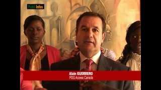 Accès Canada Douala, passage du PDG à la télé camerounaise