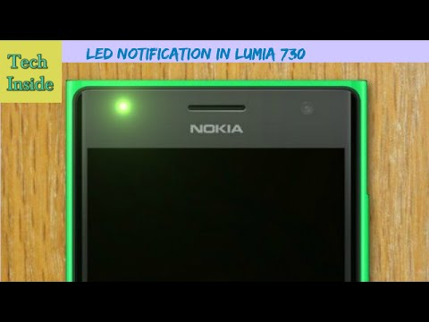 LED Notification In Lumia 730