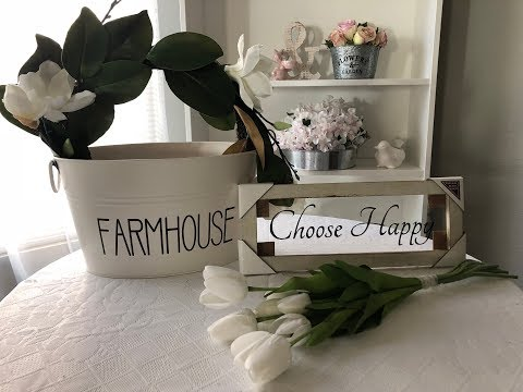 SOME FARMHOUSE GOODIES AT WALMART SHOP WITH ME 31818