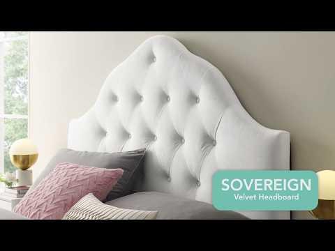 Sovereign Velvet Headboard