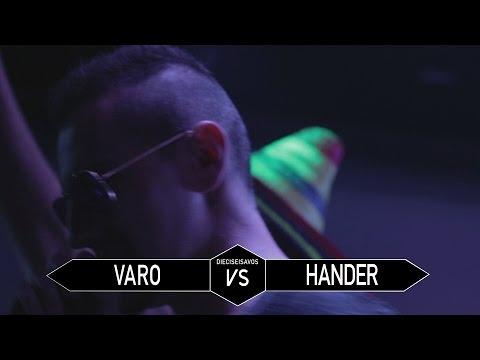 VARO vs HANDER || 16AVOS || GOLD BATTLE VALENCIA || MAKING VISUALS