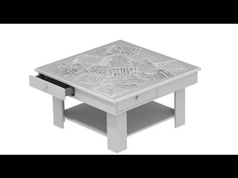 como hacer una mesa de centro de salon youtube