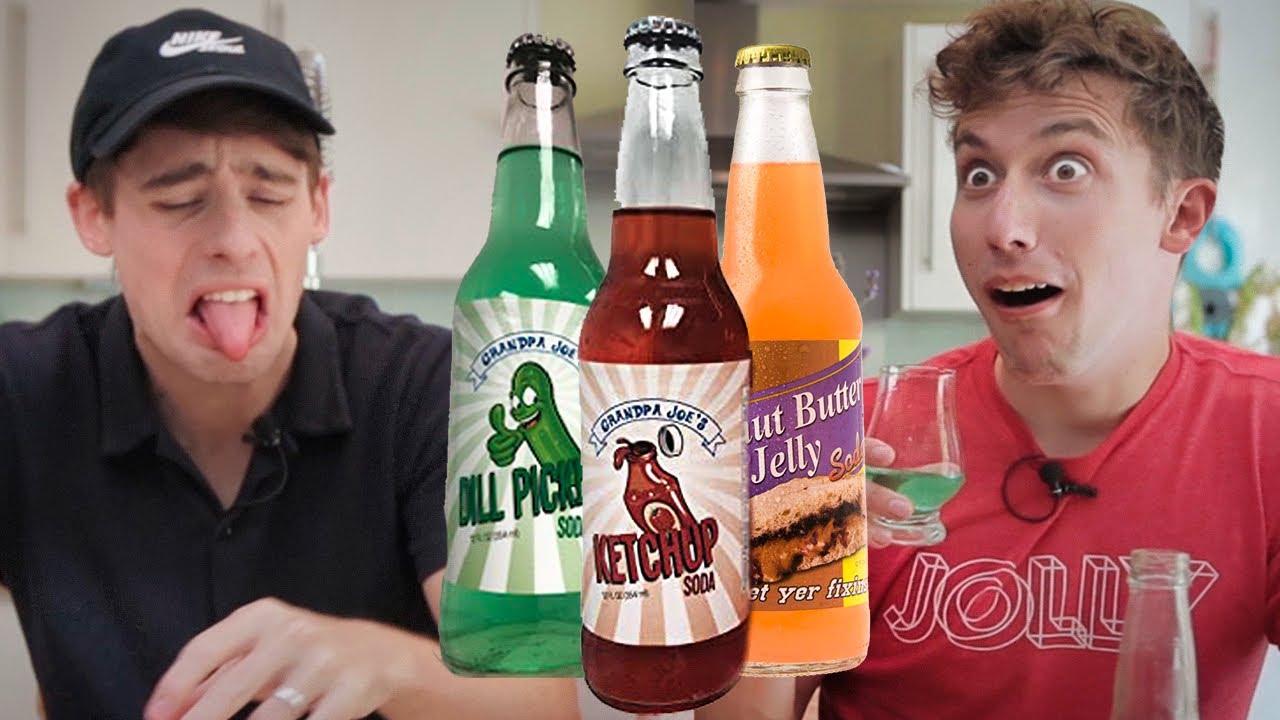 World's WEIRDEST Sodas!?!