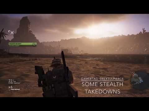Ghost Recon Wildlands: Some Stealth Takedowns |