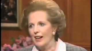 Margaret Thatcher voice before/after