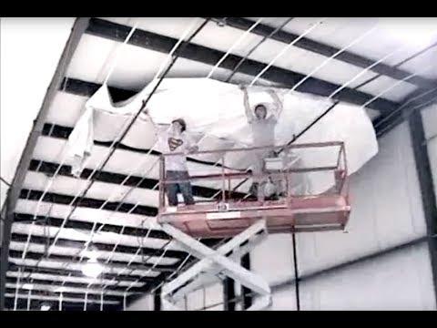 Simple Saver System® Retrofit Roof Installation: Metal Building Insulation