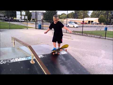 Skateboarding With Bret