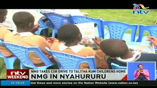 Nation Media Group takes CSR drive to Talitha Kum childrens' home