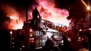 newark nj fire dept 3rd alarm fire miller st and ave c approx year 1999