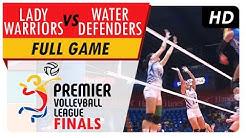 Lady Warriors vs. Water Defenders | Full Game | 1st Set | PVL Finals | June 15, 2017