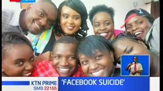 Mother speaks after son committed suicide before posting on Facebook