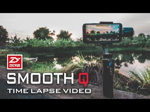 Zhiyun Smooth Q - Using Moving Time Lapse With IPhone X