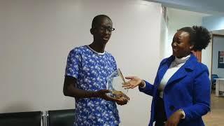 Njugush : APA Young Creative award winner