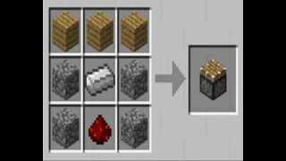 Рецепты крафта minecraft !