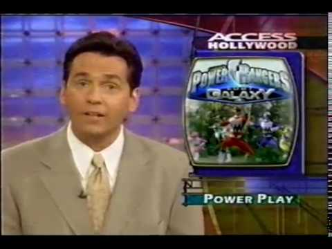 Power Rangers Lost Galaxy on Access Hollywood segment