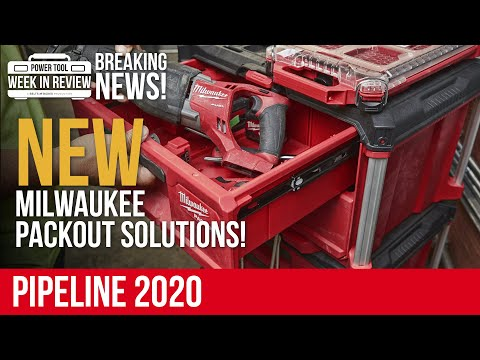 ALL of the NEW Milwaukee PACKOUT Solutions! PIPELINE 2020