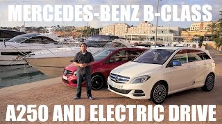(ENG) Mercedes-Benz B-Class Electric Drive - First Test Drive and Review