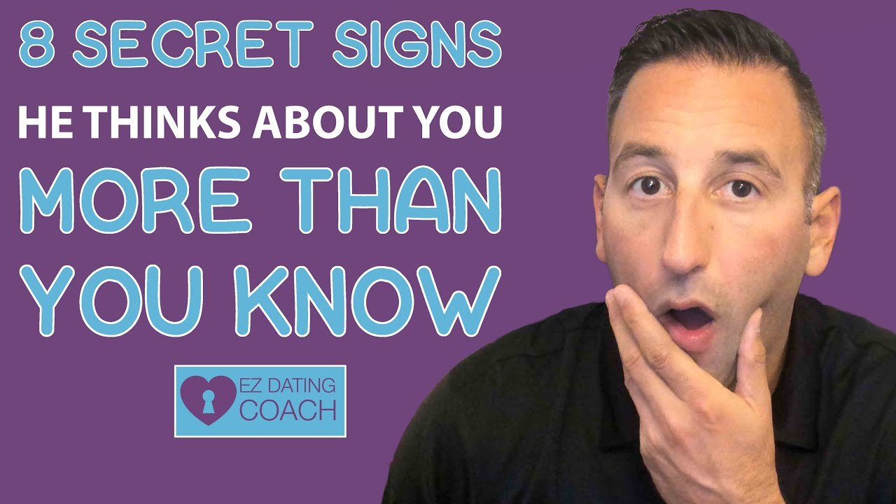 8 Secret Signs He Thinks About YOU More Than You Know