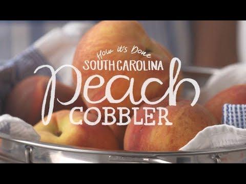 How It's Done South Carolina Peach Cobbler