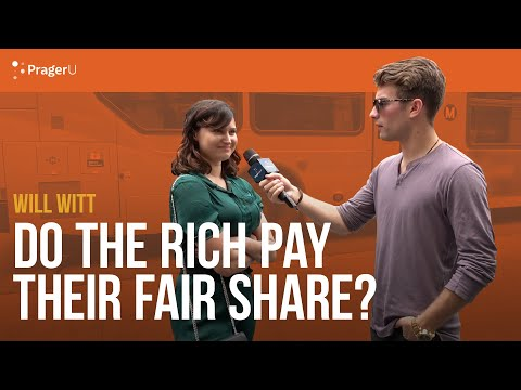 Do The Rich Pay Their Fair Share? With Will Witt