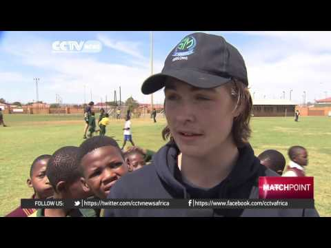 St Mary's Sporting Club visits Ikageng township in South Africa