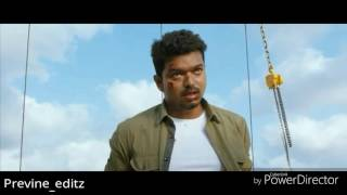 Ilayathalapathy Vijay mass and powerfull dialogue