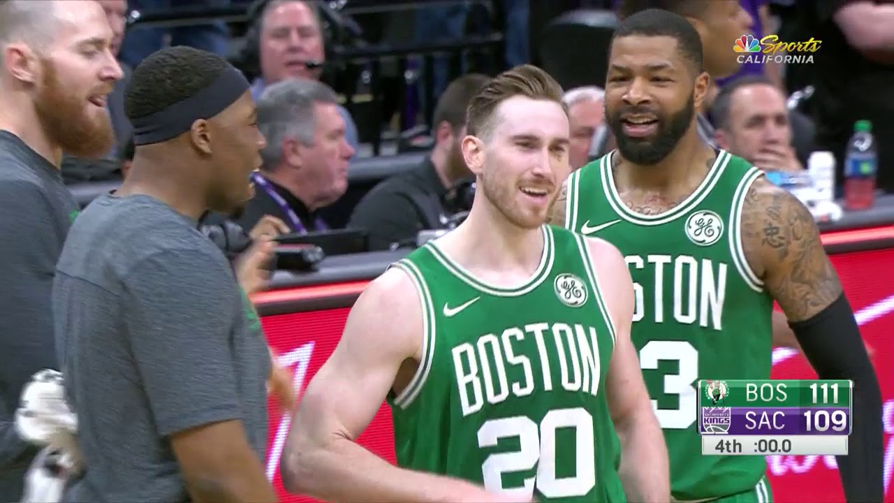 Gordon Hayward Game Winner Celtics Vs Kings March 6 2019 2018 19 Nba Season Youtube