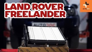 Wartung Land Rover Freelander 1 Video-Tutorial
